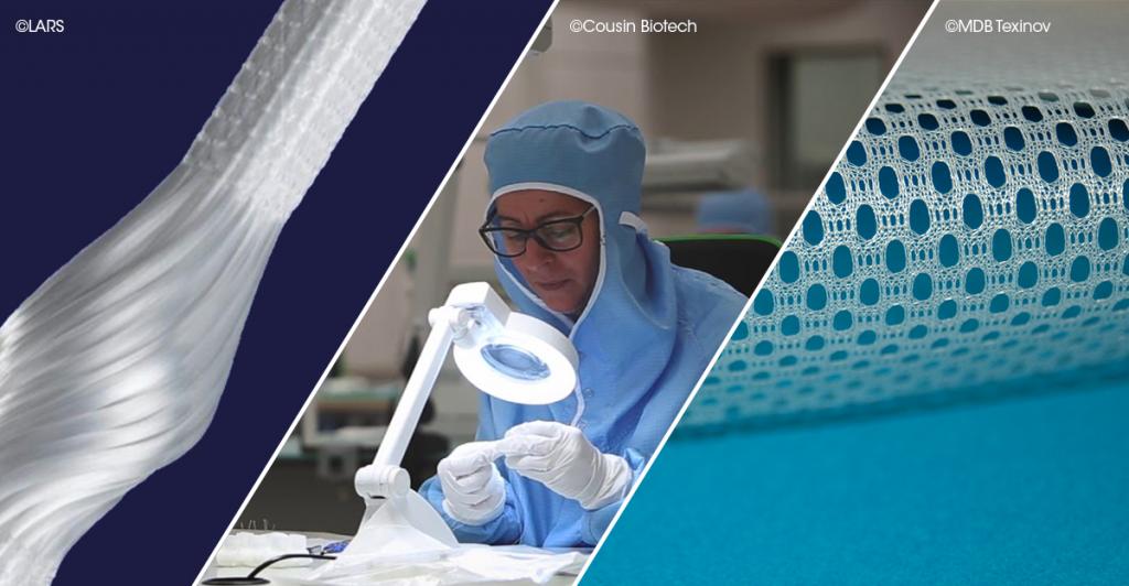 Quand les textiles techniques tissent des liens avec le médical : le regard d'EuraMaterials