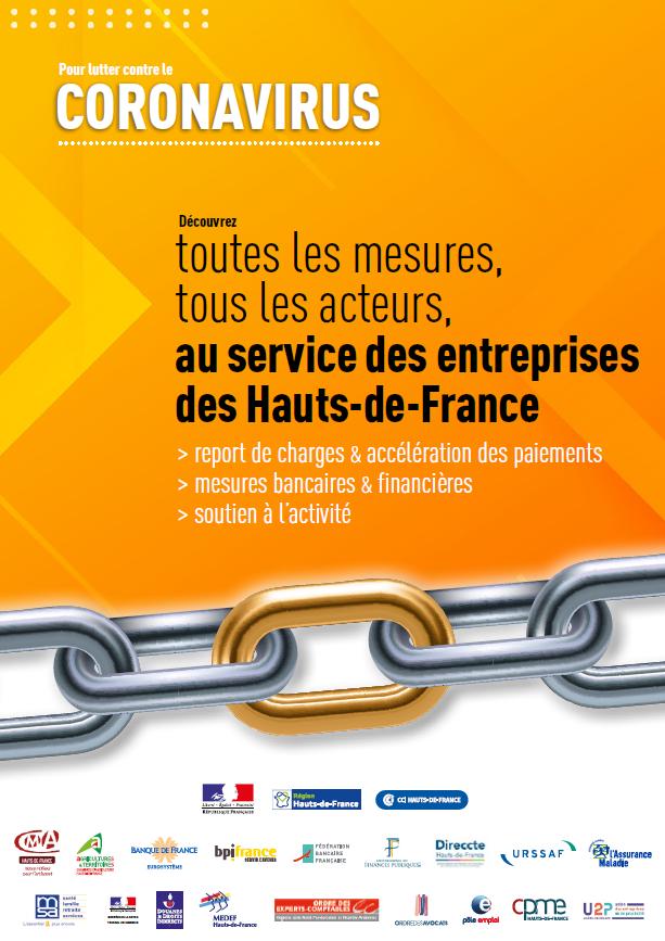 Aides aux entreprises Hauts-de-France - COVID-19
