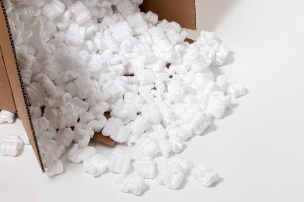 Polystyrène emballage carton