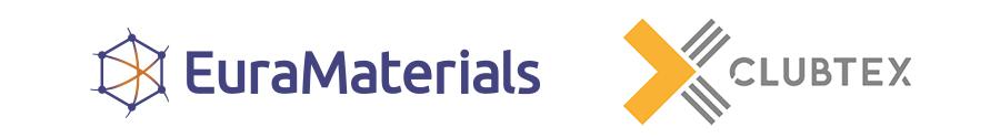 Logos EuraMaterials et CLUBTEX