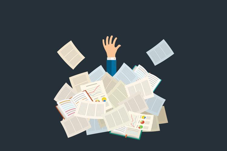 Le risque est de se retrouver noyé(e) sous un volume d'informations toujours plus grand…