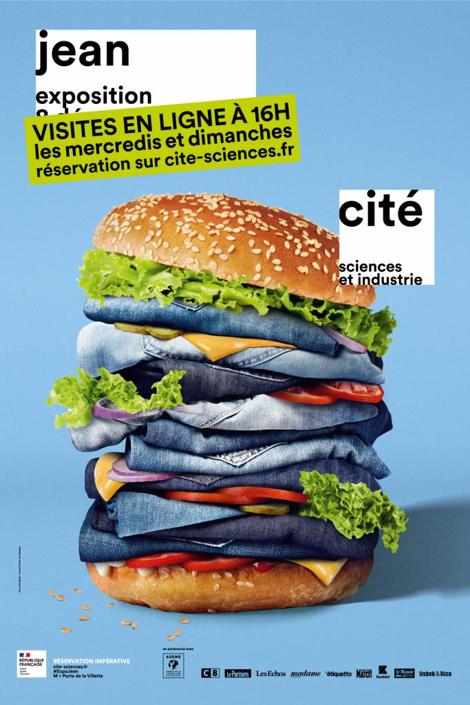 Exposition Jeans à la Cité des sciences et de l'industrie à Paris