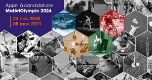 Appel à candidatures • MatériOlympic 2024