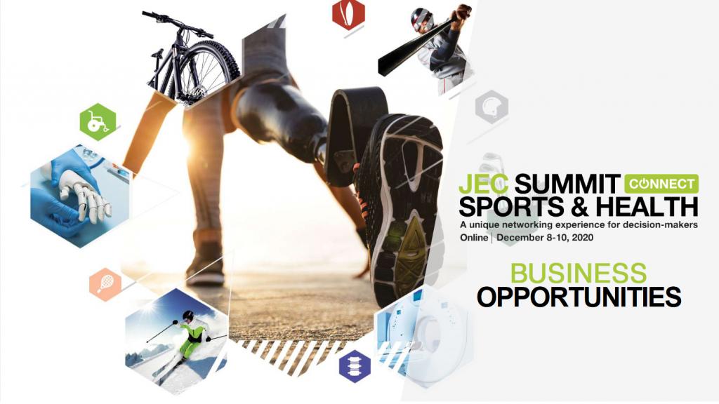EuraMaterials est partenaire de l'événement JEC Summit Sports & Health Connect