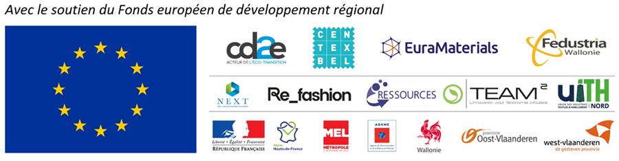 Les partenaires du projet européen RETEX sur le recyclage textile
