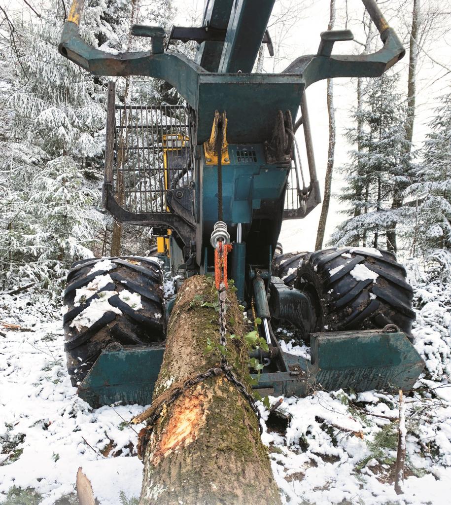 Câble textile Sequorope pour travaux forestiers - de Cousin Trestec, membre EuraMaterials