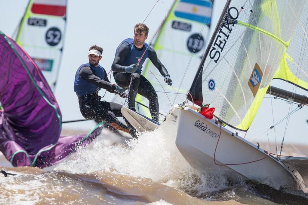 Cousin Trestec équipe Yannick Lefebvre et Tom Pelsmaekers. Photo Matias Capizzano