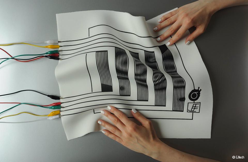 fonctionnalisation textile encres conductrices © EJtech