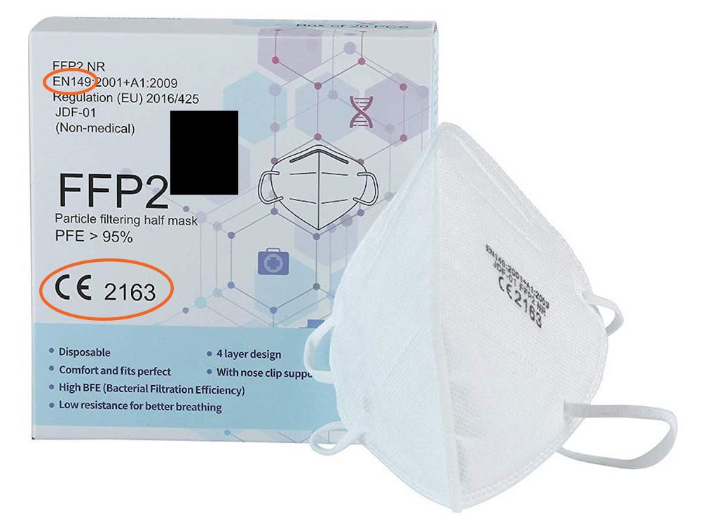 Ce qu'il faut vérifier sur l'emballage en achetant un masque de protection respiratoire - EuraMaterials