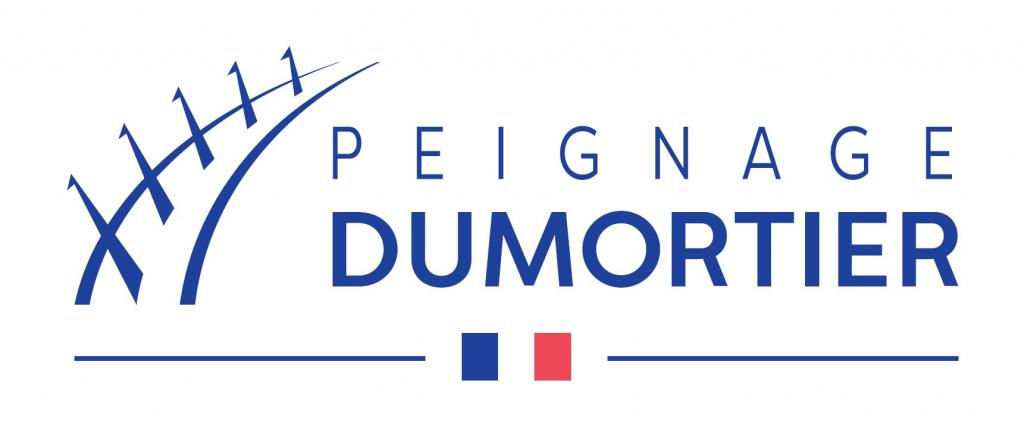 Nouveau logo de Peignage Dumortier, membre EuraMaterials